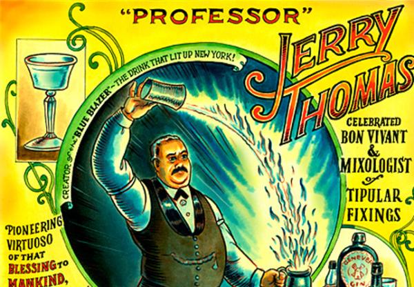 Jerry Thomas. El Profesor de la Mixología.
