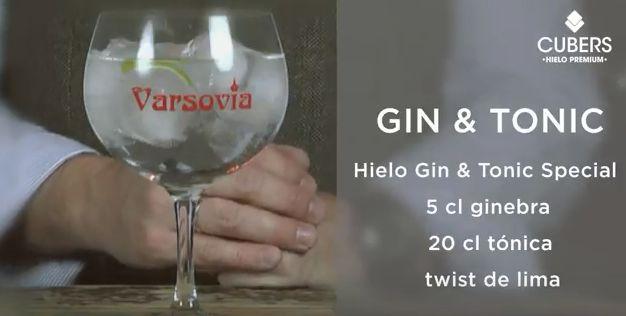 Gin Tonic: Buen Hielo, Buen Cóctel.