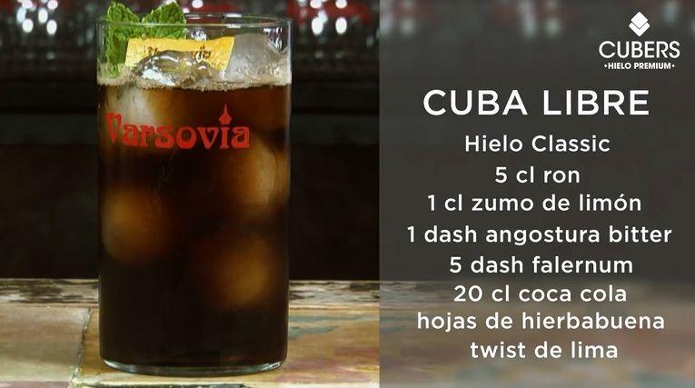 Cubalibre-Buen Hielo Buen Coctel