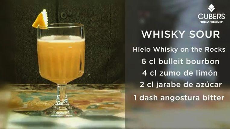 Whisky Sour - Receta de Borja Cortina