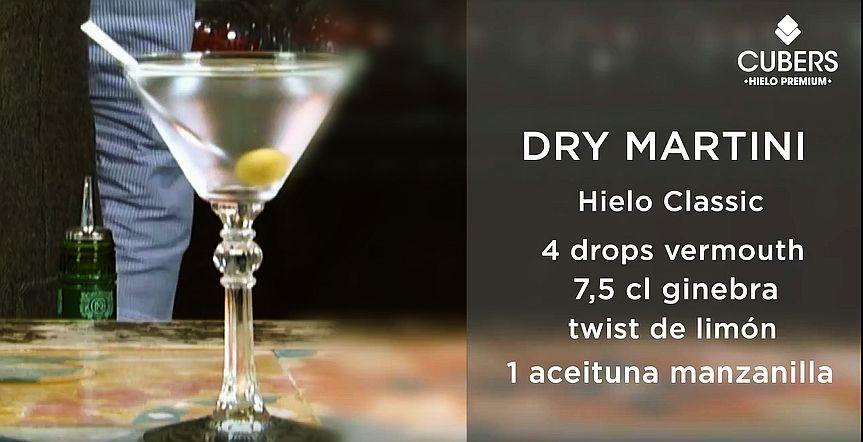 Dry Martini: Buen Hielo, Buen Cóctel.