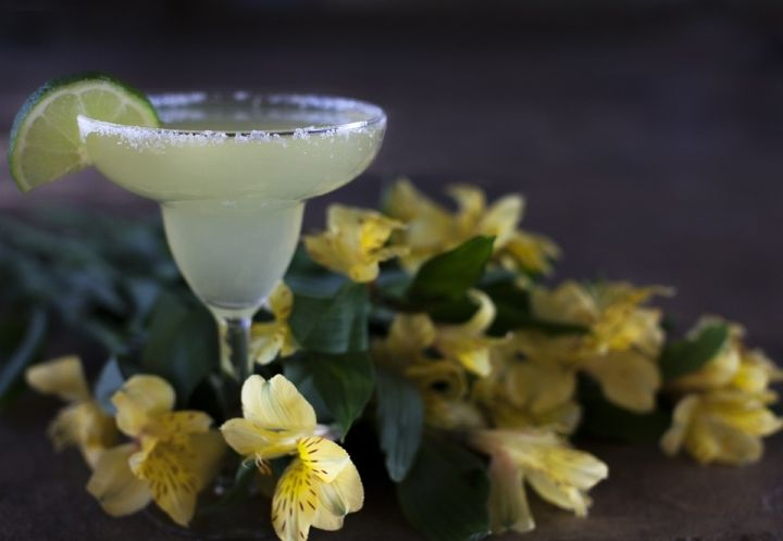 El cóctel Margarita. El sabor de Méjico y Hollywood.