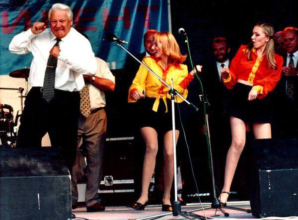El Vodka y los famosos-Boris Yeltsin