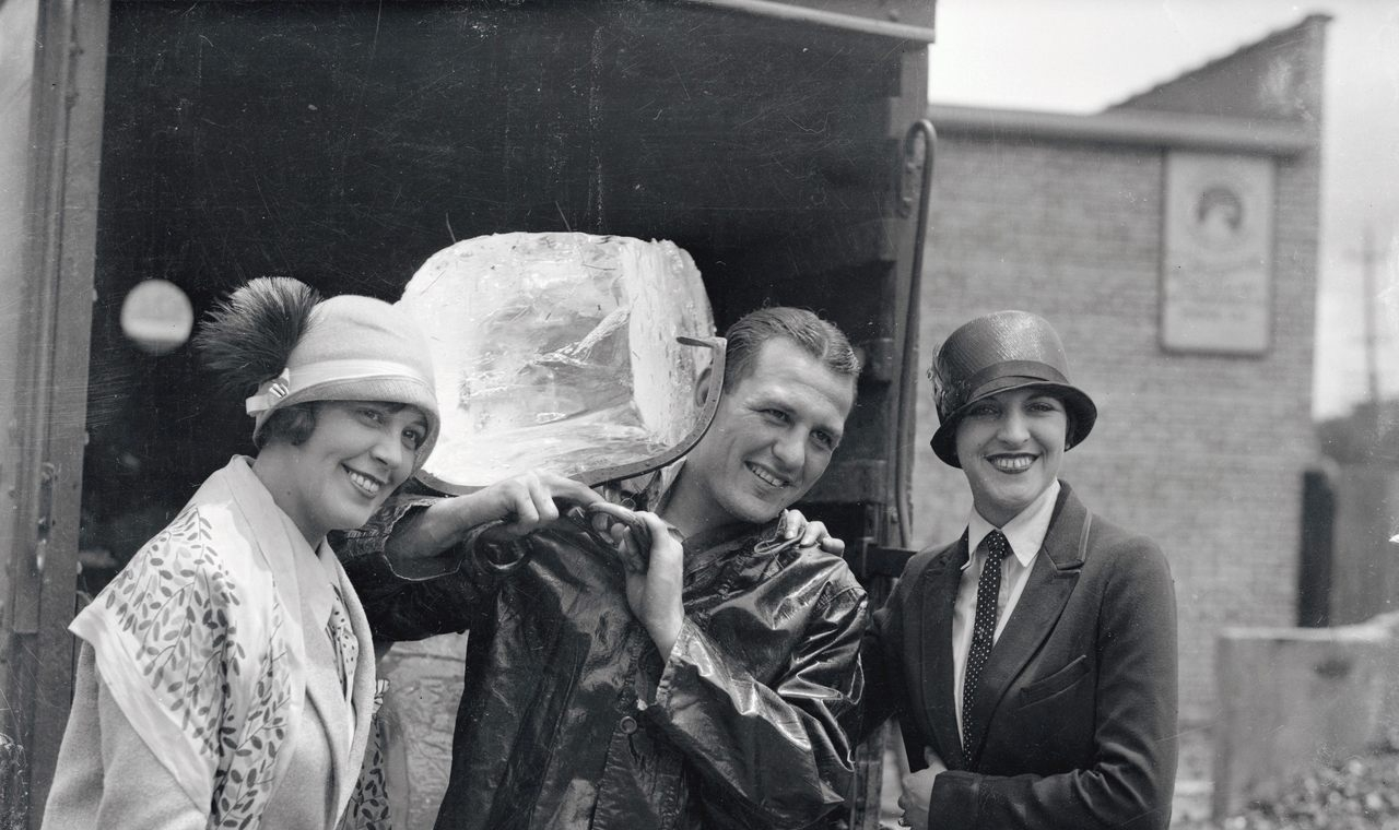 The Iceman o repartidor de hielo. Mito erótico en 1890s