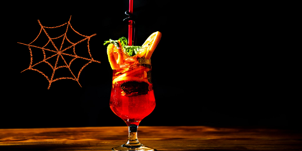 Cócteles Halloween con niños