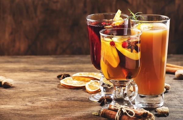 Tres cócteles con sabor a otoño