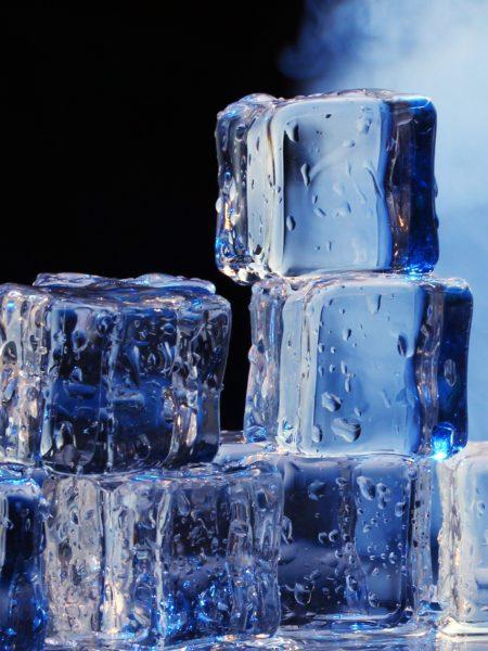 Usos del hielo