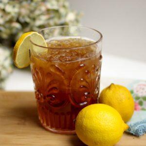 Té de menta y limón