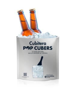 Ideas para utilizar tu hielo premium: Pop Cubers, la bolsa de hielo que se convierte en cubitera