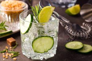 Limonada de pepino, bebida refrescante para el verano