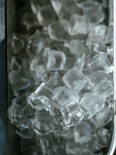 hielo apelmazado