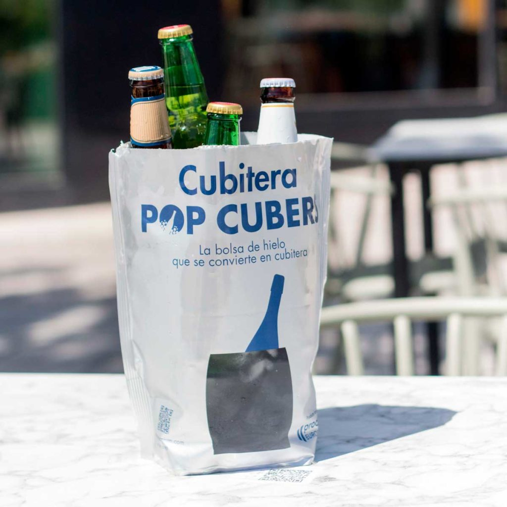 cubitera pop cubers con cervezas