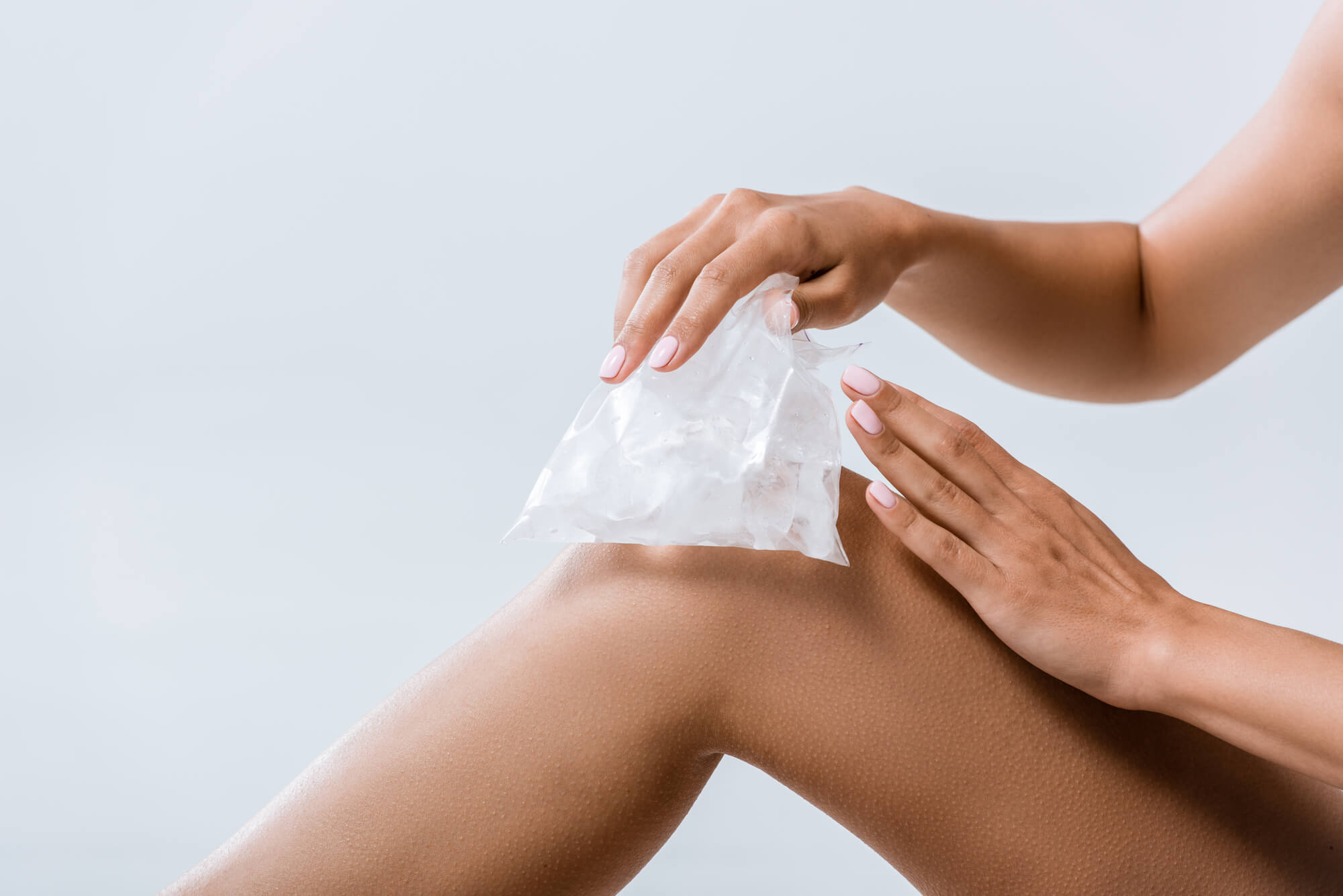 ¿Por qué el hielo es bueno en las lesiones?